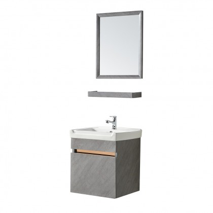[Ready Stock] Sorento Stainless Steel 304 Material Bathroom Water Proof Small Basin Cabinet Combo SRTBF11403