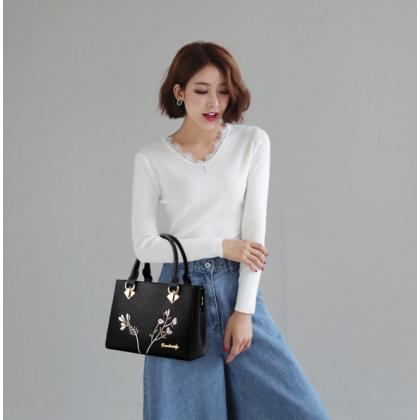 Women Leather Casual Bag Shoulder Bags Designer Crossbody Bag Luxury New Bags