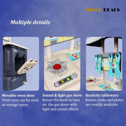 [READY STOCK] Schoolbag kitchen counter Kids toys / Deformed schoolbag toy